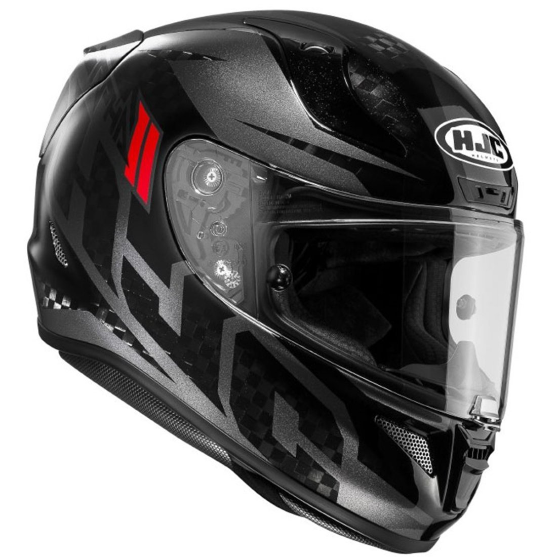 hjc rpha 11 carbon lowin mc 5 helmet motocard. Black Bedroom Furniture Sets. Home Design Ideas