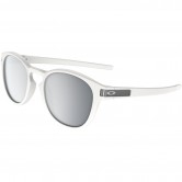 6dead3893f OAKLEY Latch Matte White   Chrome Iridium