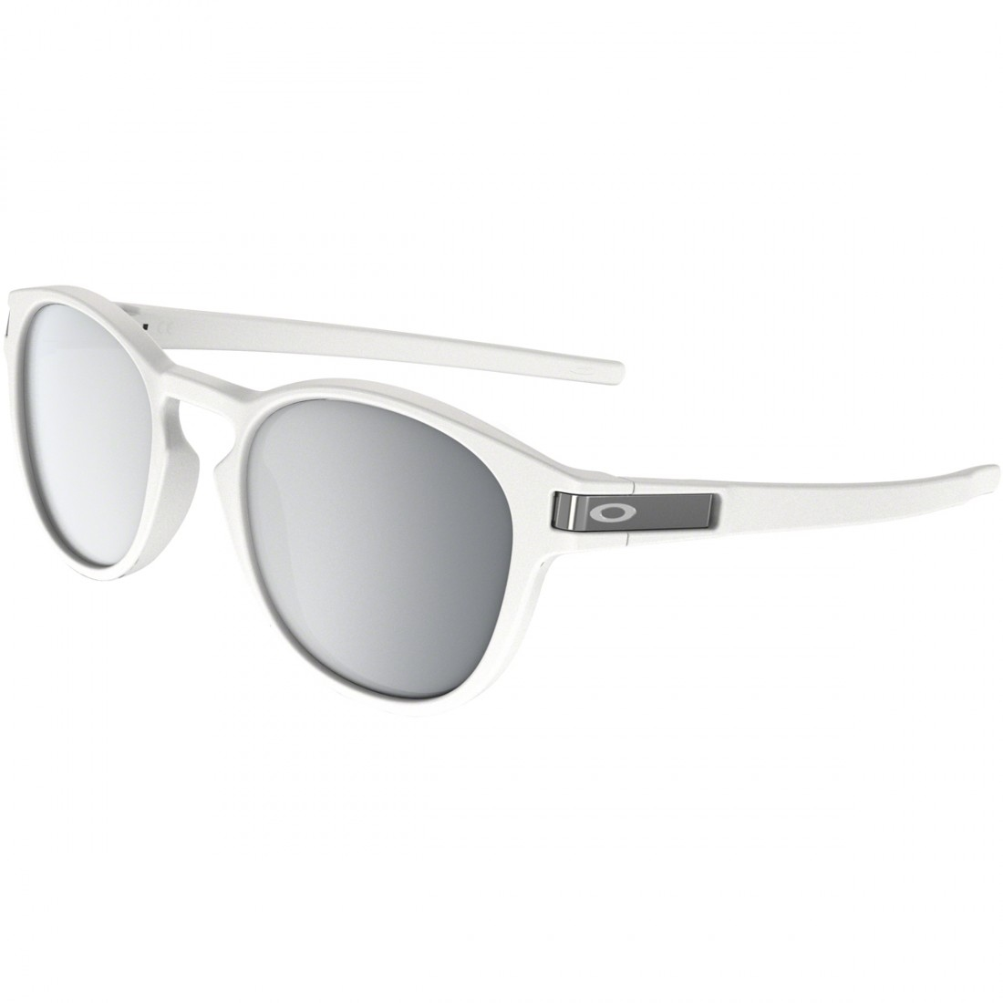 fc636f6d3 OAKLEY Latch Matte White / Chrome Iridium Sun glasses