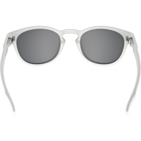 Maschera / Occhiali OAKLEY Latch Matte White / Chrome Iridium