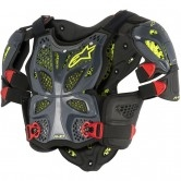 ALPINESTARS A-10 Full Chest Anthracite / Black / Red
