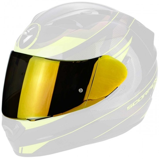 Accessorio casco SCORPION KDF 14-3 Gold Mirrored