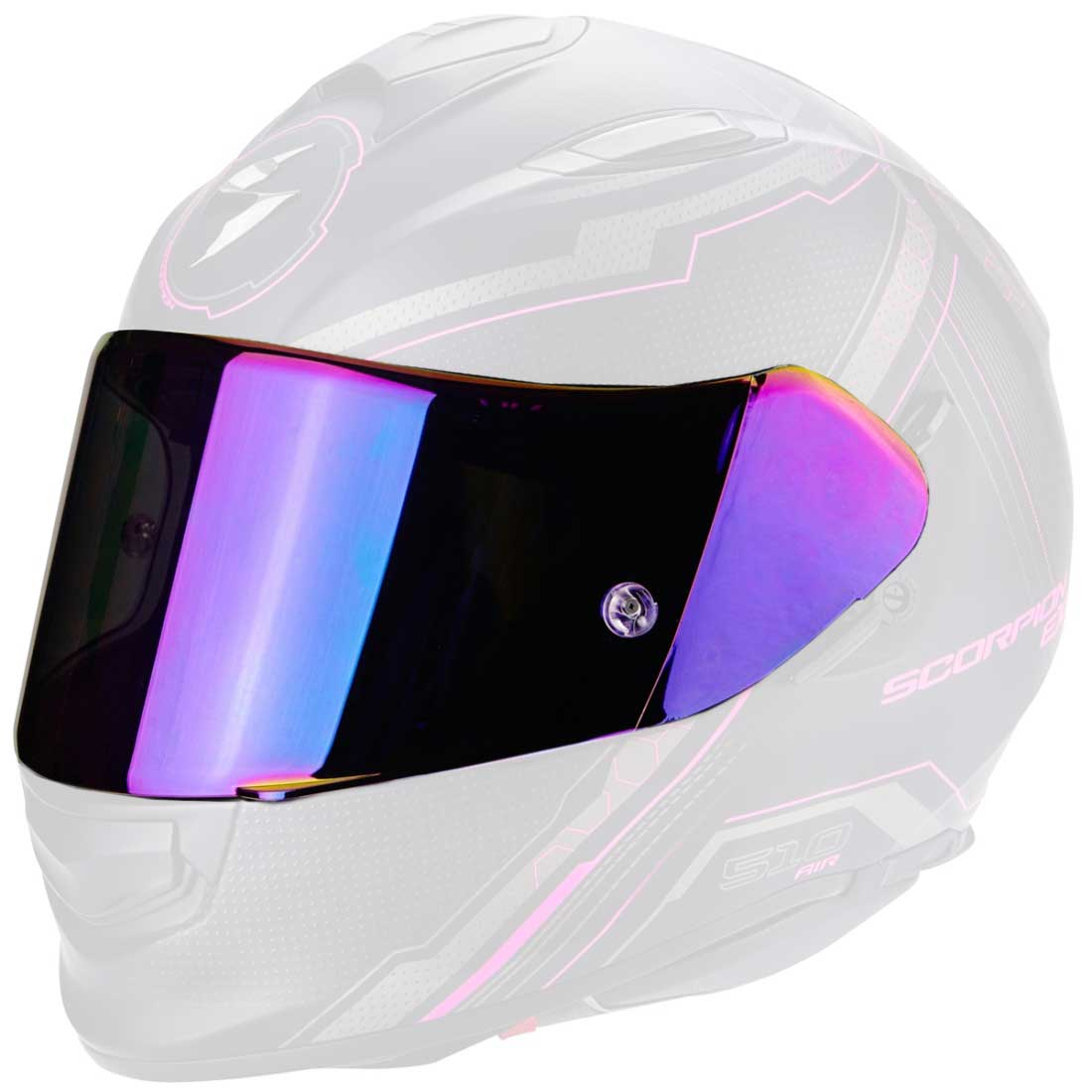 Accesorio casco SCORPION KDF 14-3 Ruby Mirrored