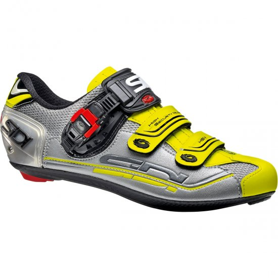 Zapatillas SIDI Genius 7 Steel / Silver / Yellow