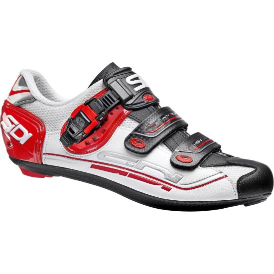 SIDI Genius 7 White / Black / Red Shoe
