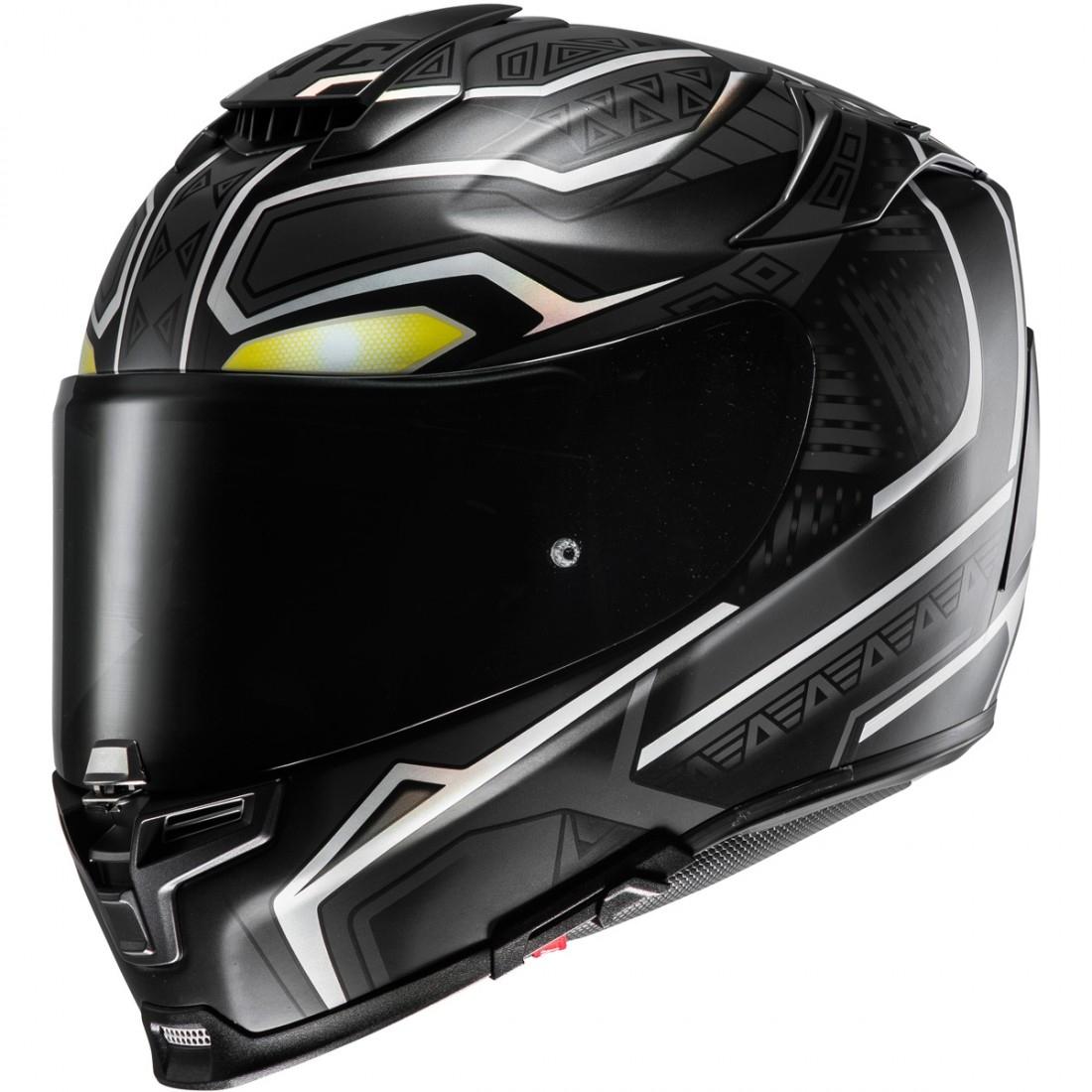 hjc rpha 70 black panther mc 5sf helmet motocard. Black Bedroom Furniture Sets. Home Design Ideas