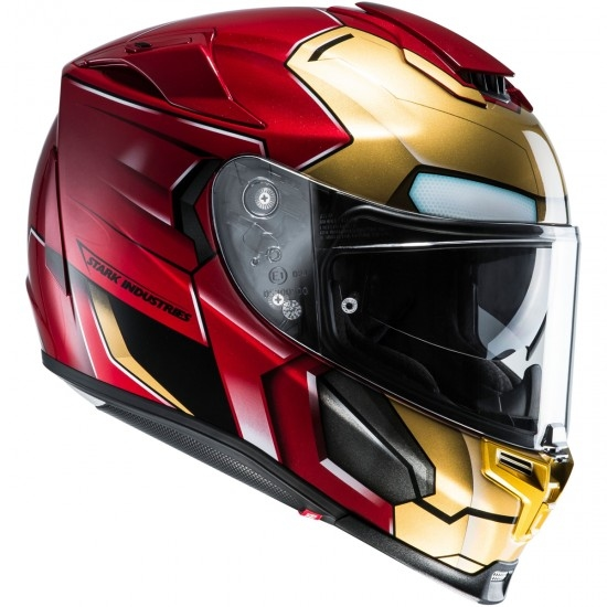 Casco HJC RPHA 70 Iron Man Homecoming · Motocard 540f34a2e51