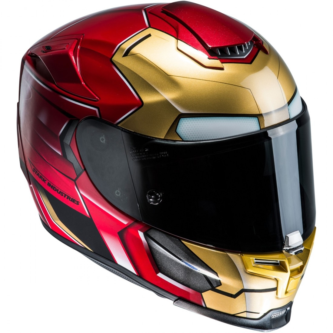 casco hjc rpha 70 iron man homecoming motocard. Black Bedroom Furniture Sets. Home Design Ideas