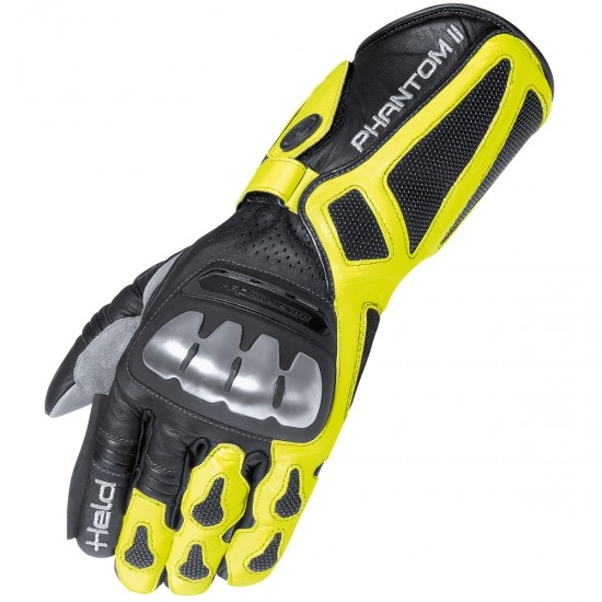 Guantes HELD Phantom II Black / Yellow Fluo