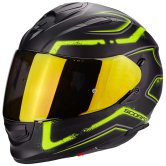 SCORPION Exo-510 Air Radium Matt Black / Yellow Fluo