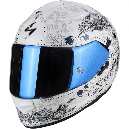 Casco SCORPION Exo-510 Air Azalea Pearl White / Silver