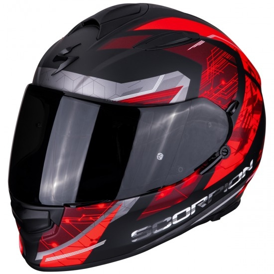 Casco SCORPION Exo-510 Air Clarus Matt Black / Red