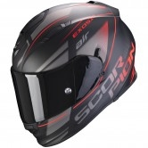Exo-510 Air Ferrum Matt Black / Silver / Red