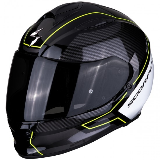 Casco SCORPION Exo-510 Air Frame Black / Neon Yellow / White