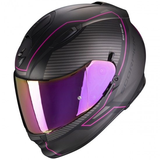 Casco SCORPION Exo-510 Air Frame Matt Black / Pink