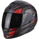 Exo-510 Air Galva Matt Black / Red Fluo