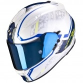 SCORPION Exo-510 Air Occulta Pearl White / Blue