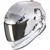 SCORPION Exo-510 Air Pique Pearl White / Silver