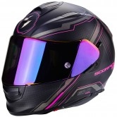 SCORPION Exo-510 Air Sync Matt Black / Pink Fluo