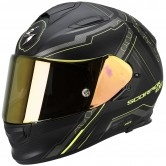 SCORPION Exo-510 Air Sync Matt Black / Yellow Fluo