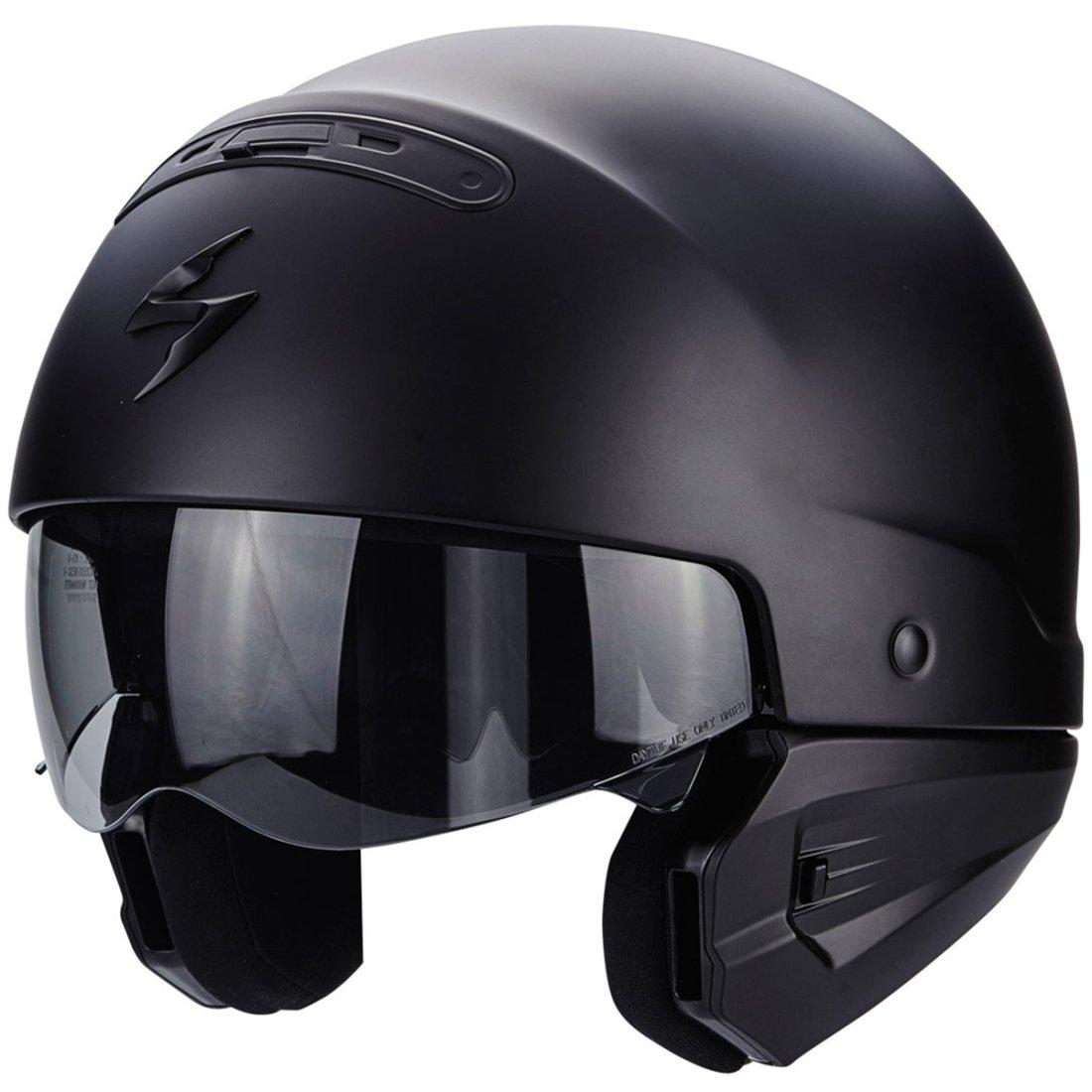 scorpion exo combat matt black helmet motocard. Black Bedroom Furniture Sets. Home Design Ideas