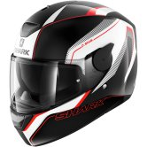 SHARK D-Skwal Rakken Black / White / Red