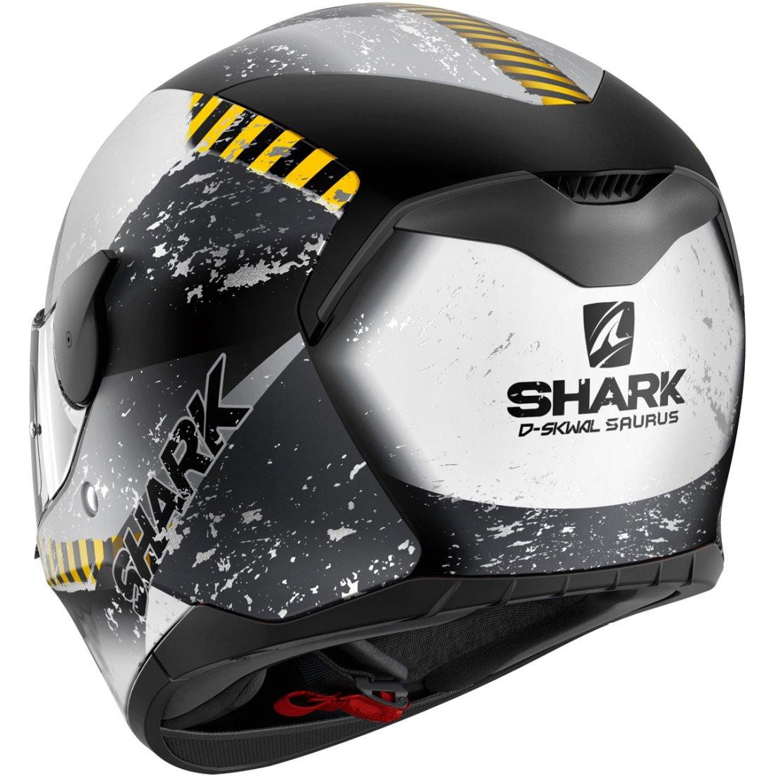shark d skwal saurus mat black white anthracite helmet. Black Bedroom Furniture Sets. Home Design Ideas