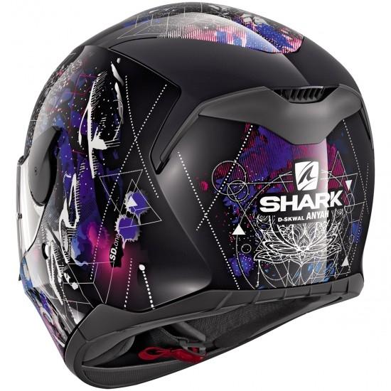 Casco SHARK D-Skwal Anyah Black / White / Blue