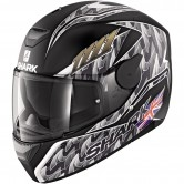 SHARK D-Skwal Replica Fogarty Mat Black / Anthracite / Silver