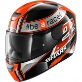SHARK D-Skwal Replica Sam Lowes Black / Orange / Silver