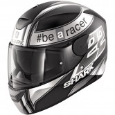SHARK D-Skwal Replica Sam Lowes Mat Black / Anthracite / White