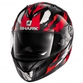 SHARK Ridill Oxyd Black / Red / Silver