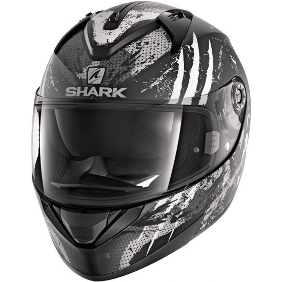 Casco SHARK Ridill Threezy Mat Black / White / Anthracite