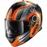 SHARK Spartan Karken Hi-Vis Orange / Black
