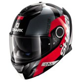 SHARK Spartan Apics Black / Red / Anthracite