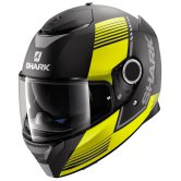 SHARK Spartan Arguan Mat Black / Yellow / Anthracite