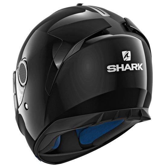Casco SHARK Spartan Blank Black