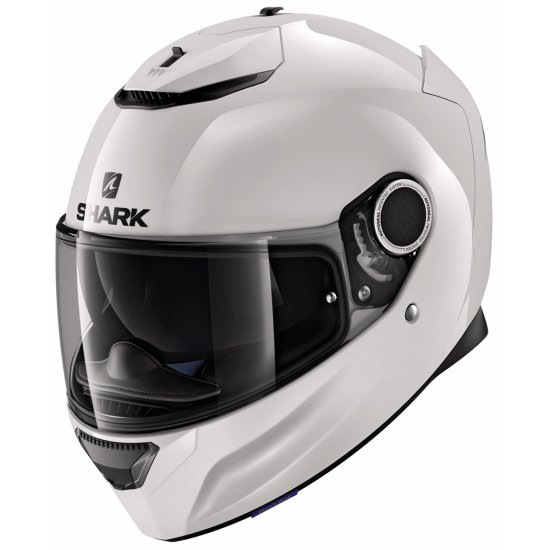 Helm SHARK Spartan Blank White Azur