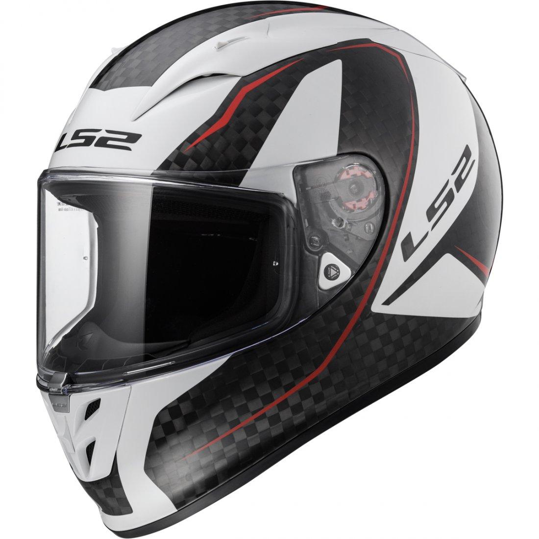 casco ls2 ff323 arrow c evo fury carbon white motocard. Black Bedroom Furniture Sets. Home Design Ideas