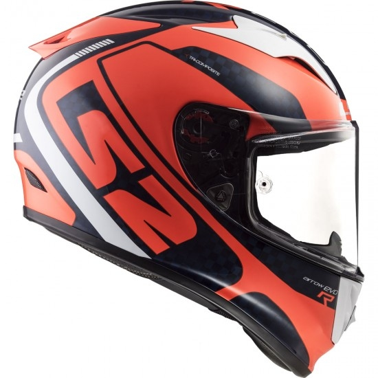 Casco LS2 FF323 Arrow C Evo Sting Blue / Fluo Orange
