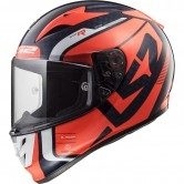 LS2 FF323 Arrow C Evo Sting Blue / Fluo Orange