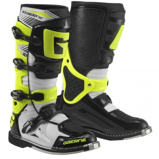 GAERNE SG10 White / Black / Yellow Boots