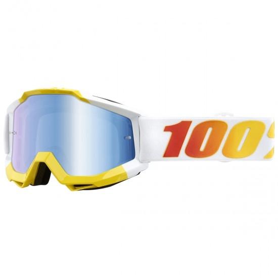100% Accuri Astra Mirror Blue Mask / Goggle
