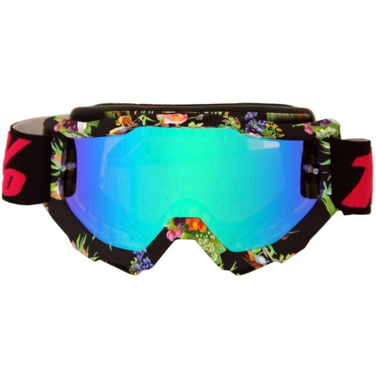 100% Accuri Chapter 11 Mirror Green Goggles