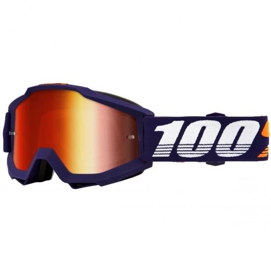 Máscara / Gafas 100% Accuri Grib Mirror Red