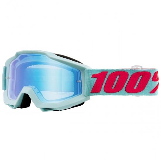 100% Accuri Maldives Mirror Blue Flash Mask / Goggle