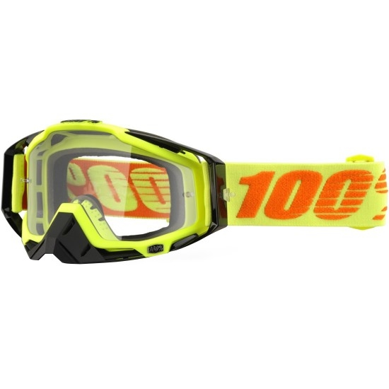 Lunettes 100% Racecraft Attack Yellow