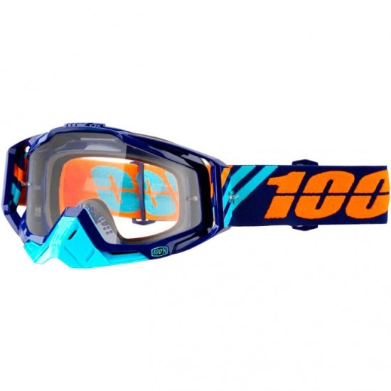 100% Racecraft Calculus Navy Mask / Goggle
