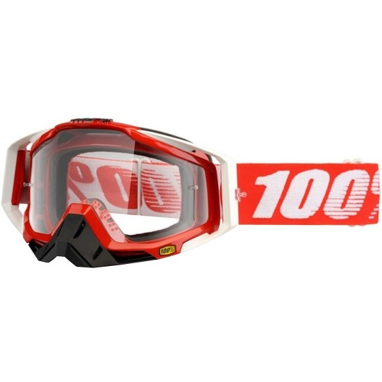 100% Racecraft Fire Red Mask / Goggle
