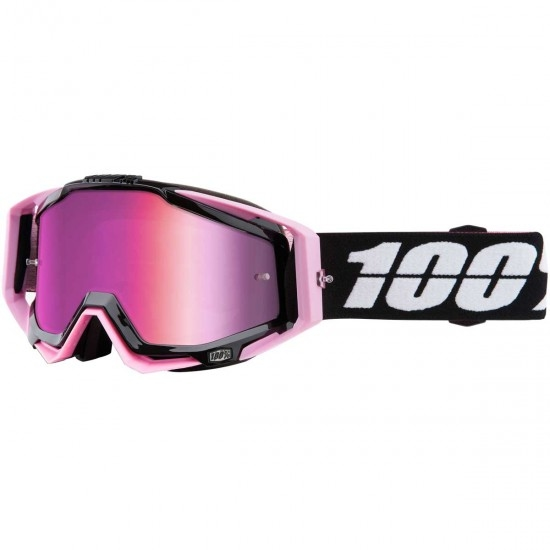 100% Racecraft Floyd Mirror Pink Goggles